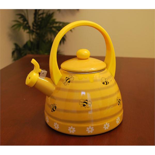 SALE! Bee Hive Whistling Tea Kettle