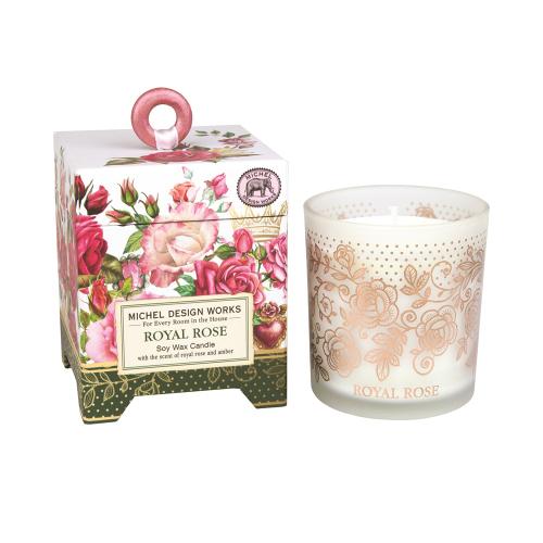LTD QTY!  Royal Rose Candle