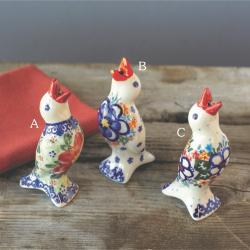 Polish Pottery Pie Bird