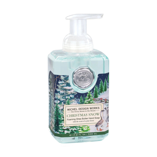 SALE!  Christmas Snow Foaming Hand Soap