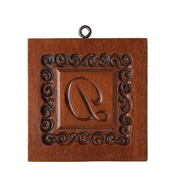 Monogram D Cookie Mold