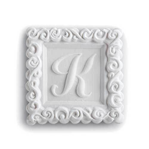 Monogram K Cookie Mold