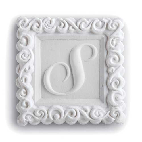 Monogram S Cookie Mold