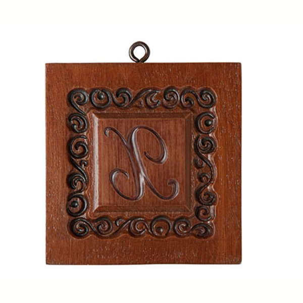 Monogram X Cookie Mold