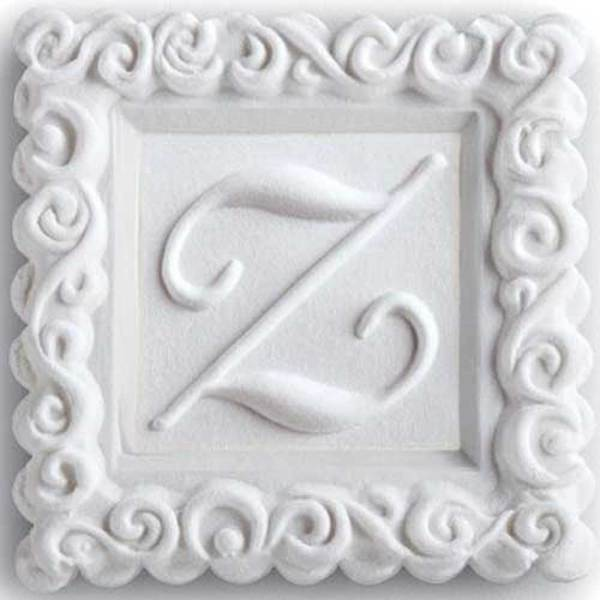 Monogram Z Cookie Mold