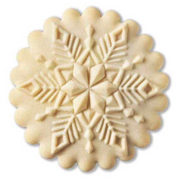 Crystal Snowflake Cookie Mold