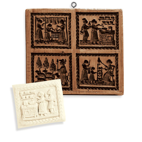 Family Life Cookie Mold