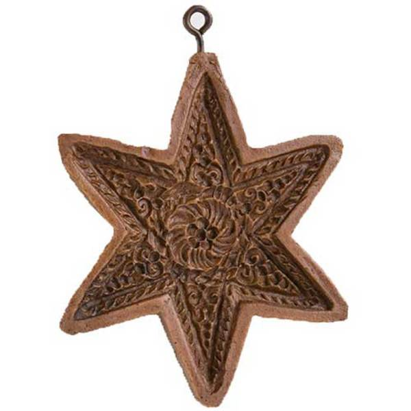 Six Point Star Cookie Mold