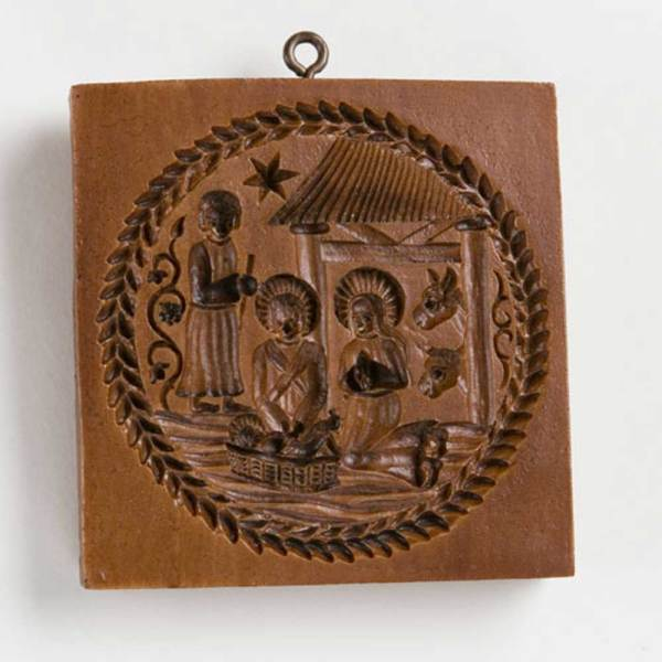Nativity Scene Cookie Mold