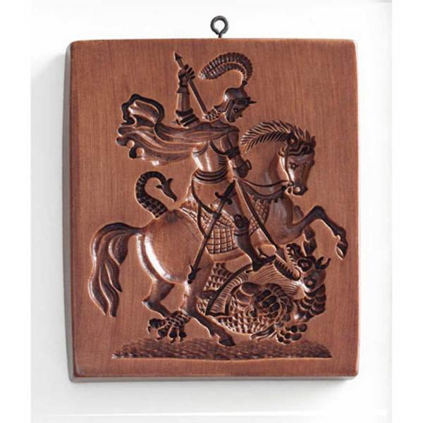 Saint George & The Dragon Cookie Mold