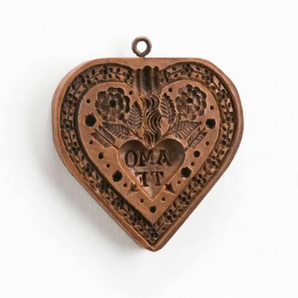 Amo Te Heart Cookie Mold
