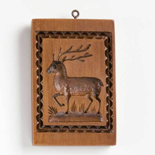The Buck Cookie Mold