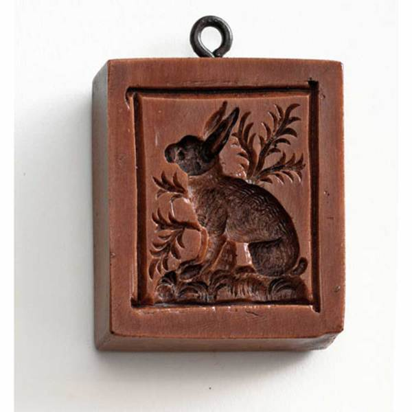 Watchful Rabbit Cookie Mold