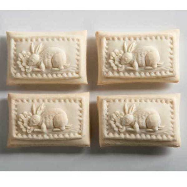 Bunny Patch Cookie Mold