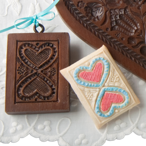 Hearts United Cookie Mold