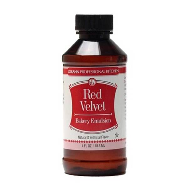 Red Velvet Bakery Emulsion Flavoring, 4 oz Bottle