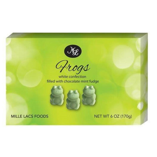 Fudge Mint Chocolate Frogs