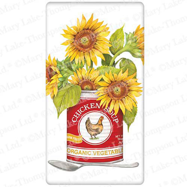 Can Sunflowers Flour Sack Towel