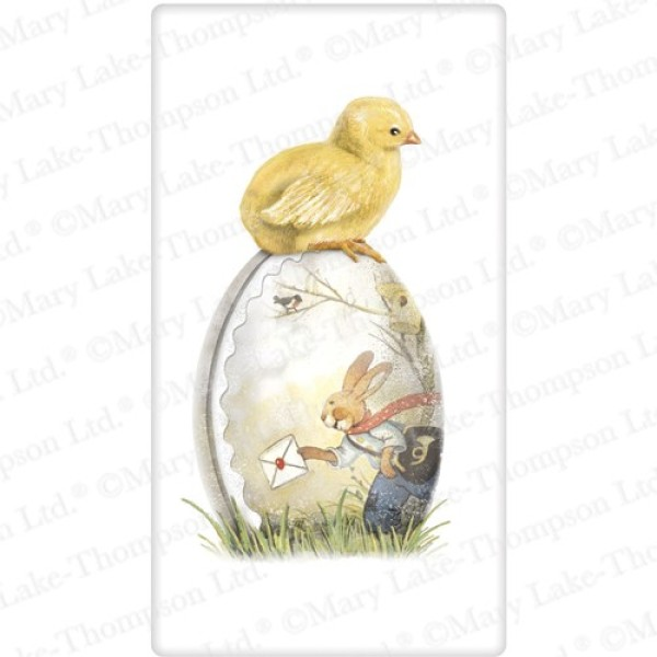 Chick on Egg Flour Sack Towel