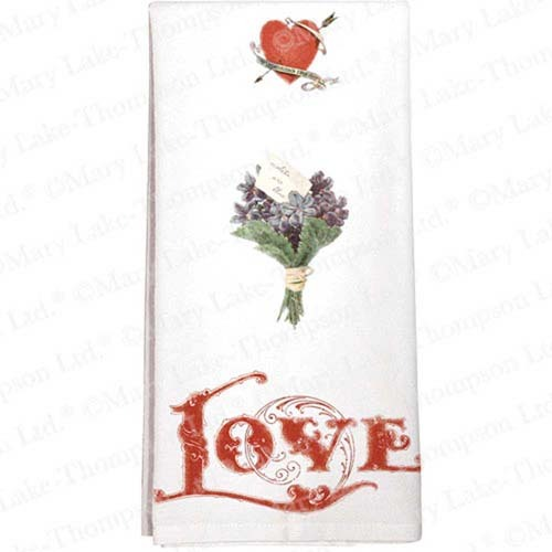 SALE!  Love Posie Flour Sack Towel