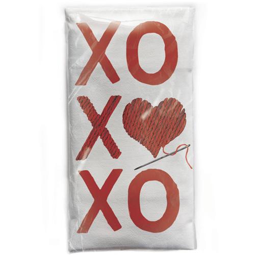 SALE!  XO XO XO  Flour Sack Towel
