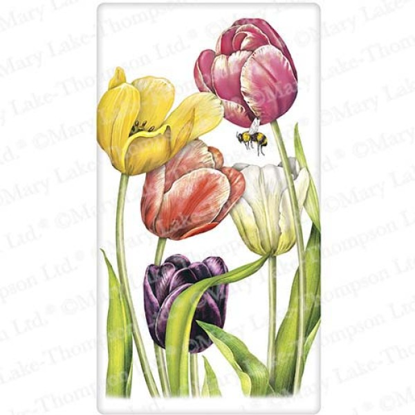 SALE!!  Tulips Flour Sack Towel