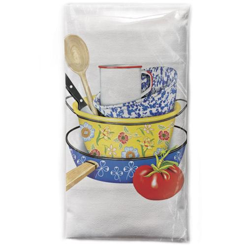Pots & Pans Flour Sack Towel