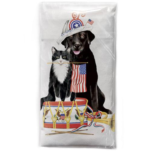 SALE!  Parade Pets Flour Sack Towel