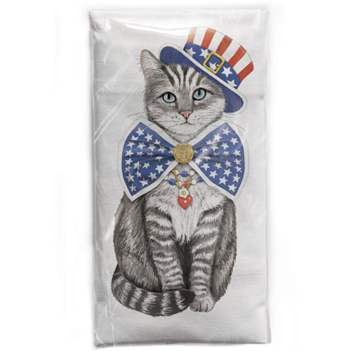Uncle Sam Flour Sack Towel