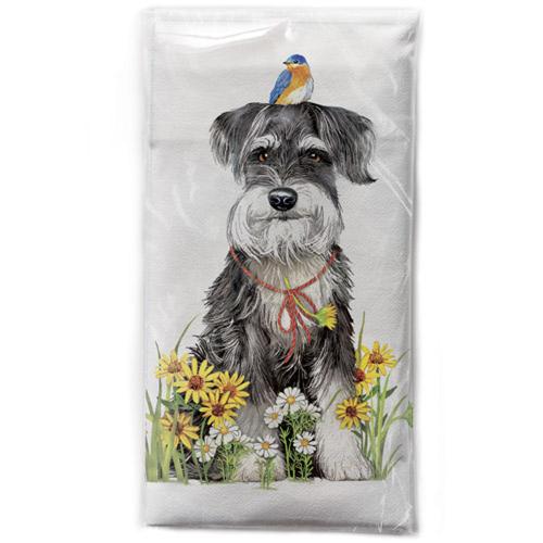 Sammy Schnauzer Flour Sack Towel