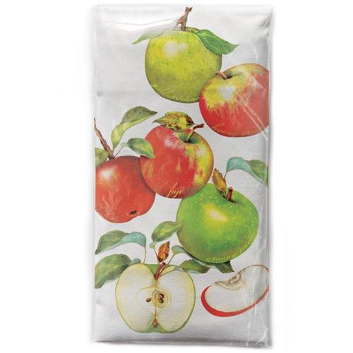 Apples Scattered Flour Sack Towel