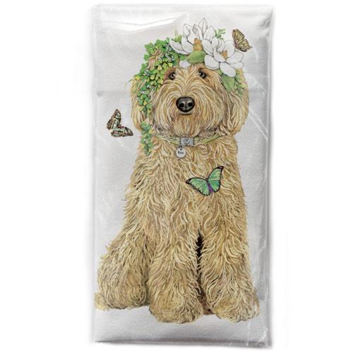 Spring Doodle Flour Sack Towel