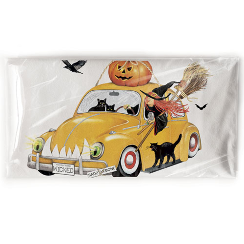 SOS!  Witch In Bug Flour Sack Towel
