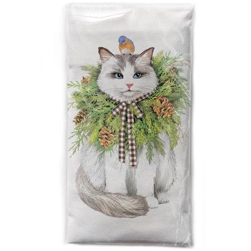 Ragdoll Cat Flour Sack Towel