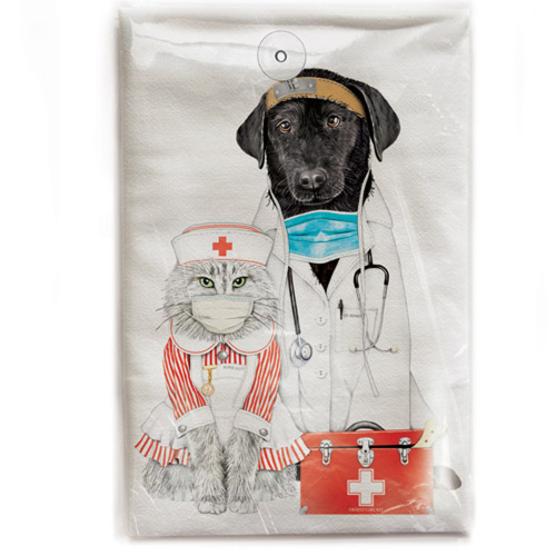 Healthcare Pets Flour Sack Towel