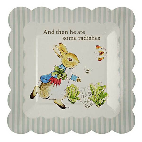 Peter Rabbit Small Paper Plates