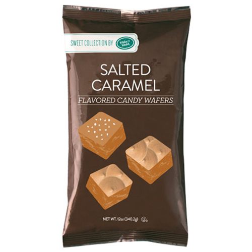 Salted Caramel Flavored Candy Wafers