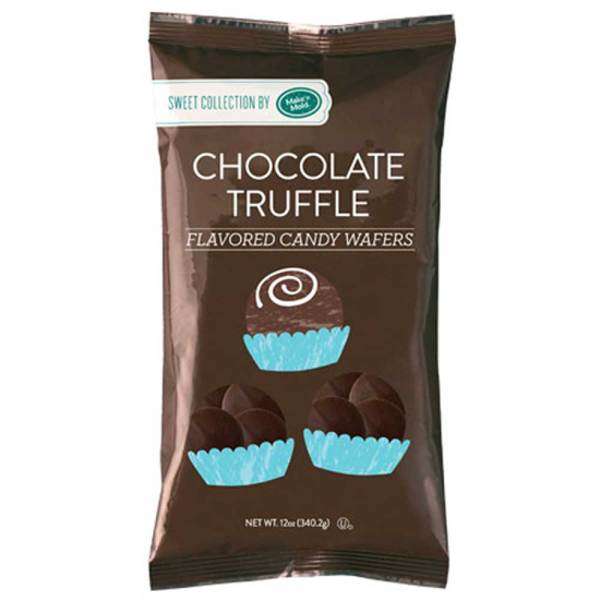 Chocolate Truffle Flavored Candy Wafers