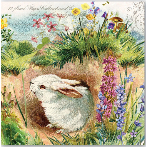 Bunny Hollow Lunch Napkin