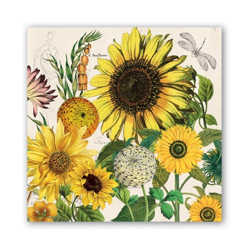 Sunflower Lunch Napkins