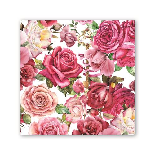 Royal Rose Lunch Napkin