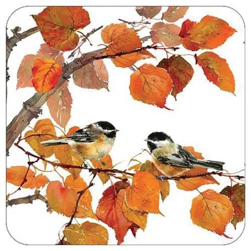LTD QTY!  Autumn Birds Paper Plates