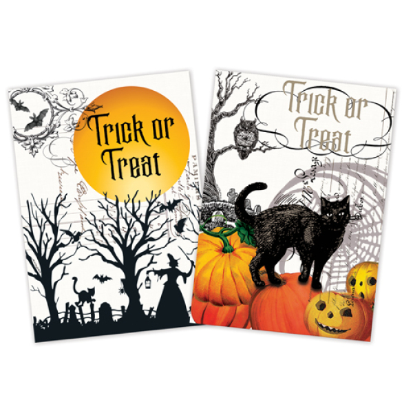 LTD QTY!  Trick or Treat Towel Set