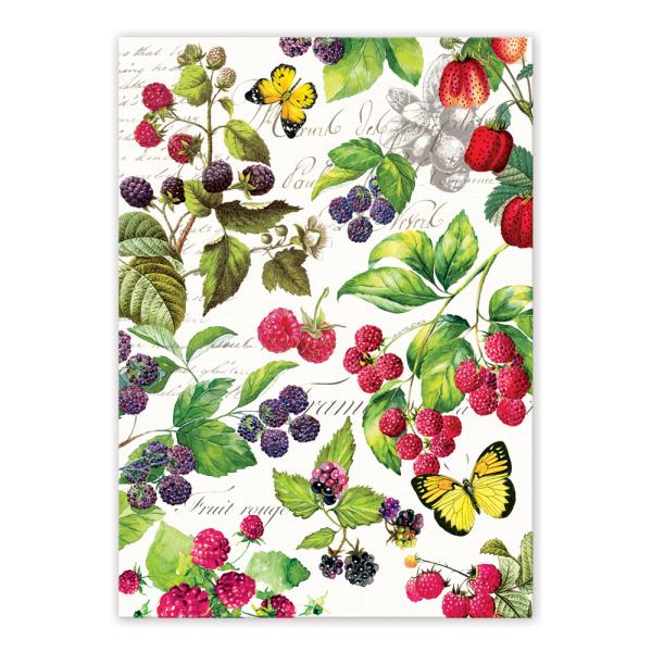 LTD QTY!  Berry Patch Kitchen Towel