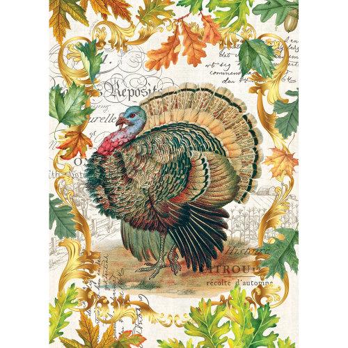 Harvest Turkey Kitchen Towel