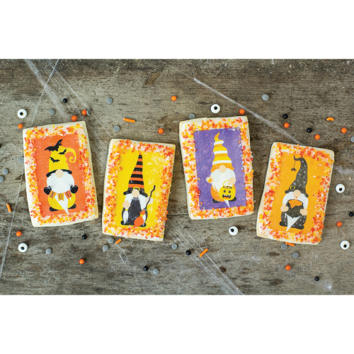 Halloween Gnome Edible Wafer Paper