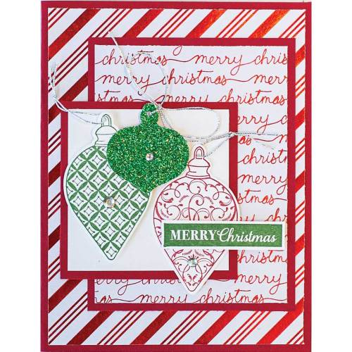 SALE!  Christmas Ornaments Greeting Card