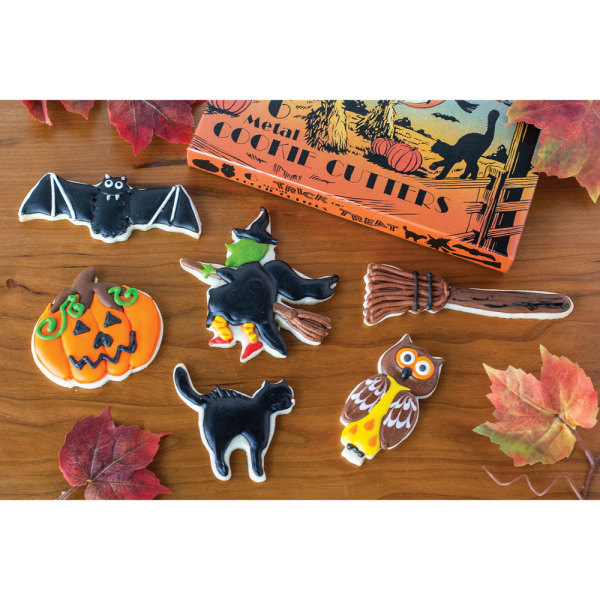 Trick or Treat Cookie Cutter Set