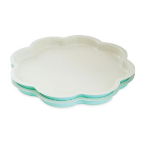 Scalloped Layer Cake Pan Set