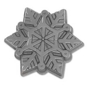 Frozen Snowflake Pan Nordic Ware Bakeware Fancy Flours